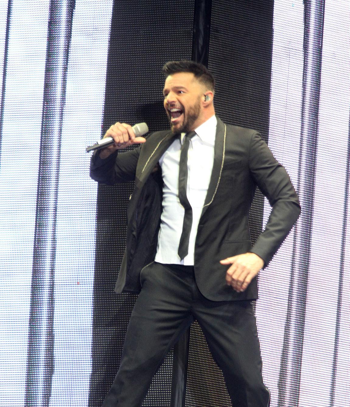 Así se vive el concierto de Ricky Martin en el Zocálo — Galería