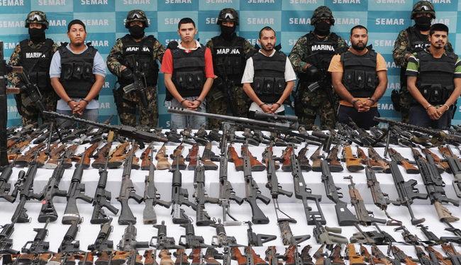 Caen cinco con arsenal en Villa Unión, Coahuila  300581