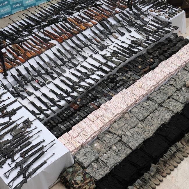 Caen cinco con arsenal en Villa Unión, Coahuila  300584