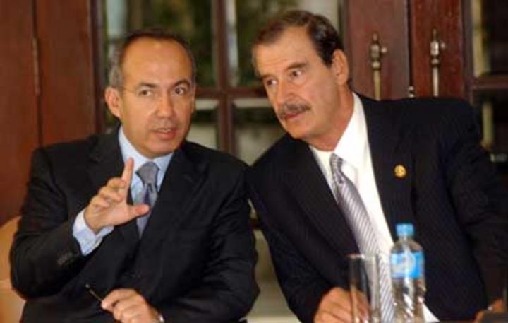 Fracaso total, guerra de Felipe Calderón contra narco: Fox