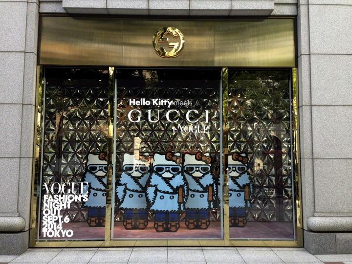 Hello Kitty se viste de Gucci